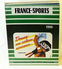CATALOGUE ANNUEL FRANCE SPORT 1986