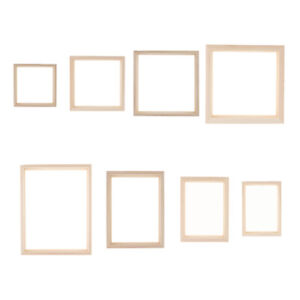 Creative Double-sided Glass Specimen Transparent Wooden Frame