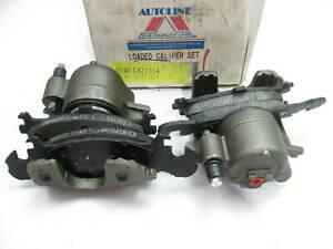 Reman. Autoline C421314 FRONT Disc Brake Caliper Set W/ Pads