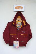 Childrens ski jacket. Campri. Age 5 years. Dark red.