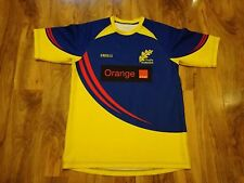 RARE ROMANIA MATCH WORN RUGBY UNION SHIRT/JERSEY/MAILLOT-SUPERB!!!