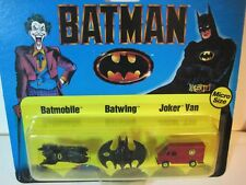 1989 ERTL BATMAN MICRO SIZE VEHICLES