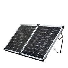 160w Solar Folding Panel Kit Caravan Boat Camping Power Mono Charging 12v