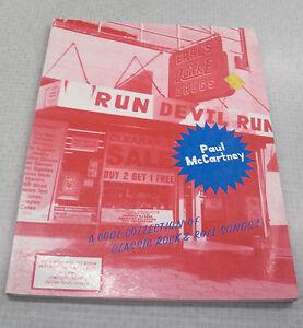 Paul McCartney Run Devil Run PVG Book