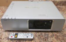 Panasonic F300 XGA LCD Projector PT-F300U 1159 Lamp 4348 Projector Hrs Works
