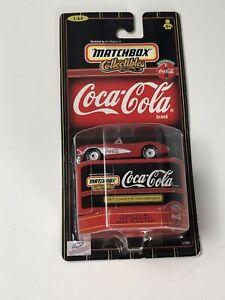 1998 Matchbox 1957 Corvette Convertible Die Cast Car, Item #37985, Coca-Cola