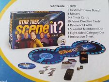 NIB Star Trek Scene It The DVD Game New Sealed Mattel Family Trivia Game Trekkie