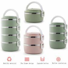 Boîte À Repas Goûter Déjeuner Bento Lunch Box 1~ 4 Compartiments Isotherme étage