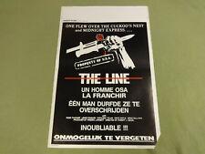 MOVIE POSTER / CINEMA AFFICHE - THE LINE (RUSS THACKER, LEWIS STADLEN, ...)
