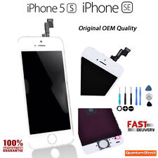 WHITE Genuine Retina LCD & Digitiser Touch Screen Assembly FOR iPhone 5S & SE