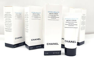 CHANEL HYDRA BEAUTY  MICRO CREME hydratant repulpant fortifiant 50ml (10×5ml)