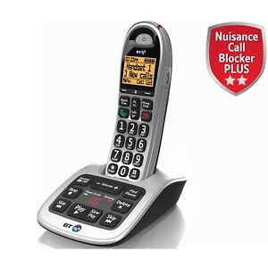 BT 4500 SINGLE BIG BUTTON CORDLESS PHONE WITH ANSWERING MACHINE