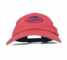 US Open 2017 American Needle Brand Red Baseball Cap Hat Adj Men s Size  Polyester 1869ebb7c052