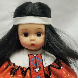 "Adorable Madame Alexander 8"" Apache Rose 2007 Region 25 Tucson Doll Guild 12/20"