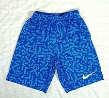 Boys Youth Size XL Nike Dri-Fit Training Athletic Shorts in Blue Style 939659