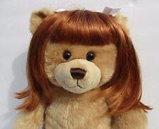 Build-a-Bear Workshop Auburn Ginger Wig Hair - Build a Bear Clothing/Accessories
