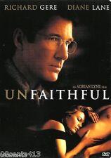 Unfaithful (Widescreen DVD) Diane Lane, Richard Gere, Olivier Martinez *R*