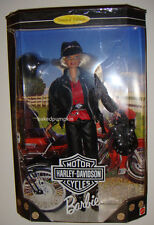 Barbie Harley-Davidson Barbie Doll #1 Blonde Doll NRFB Limited XB800