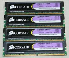 CORSAIR 8GB (4X2GB) PC2 6400 DDR2 800 NON-ECC DESKTOP MEMORY