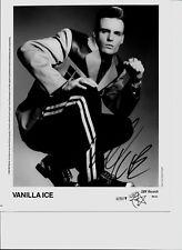 Vanilla Ice-- signed photo - coa - pose 12