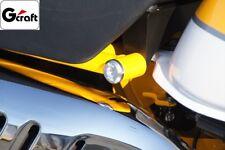 Set de deux bouchons de cadre alu G'Craft #31250 Honda Monkey 125 / Direct Japon