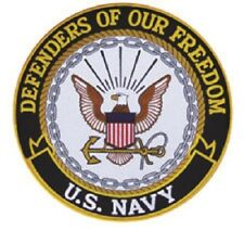 "PATCH U.S. Navy 5""-New Style eagle and anchor"