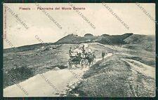 Firenze Fiesole Monte Senario cartolina QQ2305