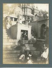 Inde, Lieu de pèlerinage, ca.1910, vintage silver print Vintage silver print, mo
