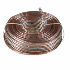 80'FT 18 AWG Gauge Home Car Stereos Audio SPEAKER WIRE Copper Stranded Cable STL