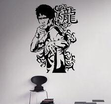 Bruce Lee Wall Vinyl Decal Film Actor Vinyl Sticker Martial Artist Home Decor 6