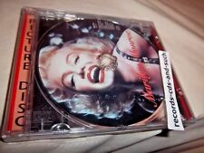 MARILYN MONROE-KISS-PICTURE DISC-RM 1554 NEW SEALED CD