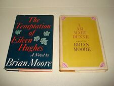 THE TEMPTATION OF EILEEN HUGHES SIGNED by Brian Moore 1st Ed  I AM MARY DUNNE