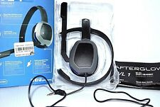 PS4 Afterglow LVL 1 Wired Chat Headset - Gray New in Retail Box