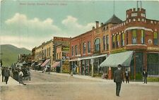 Idaho, ID, Pocatello, West Center Street 1910 Postcard
