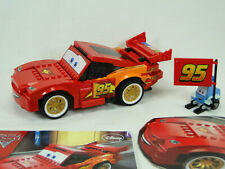 Lego Disney Pixar Cars 8484 Lightning McQueen komplett mit Anleitung