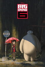 "077 Big Hero 6 - 2014 American Hot Movie Film 14""x21"" Poster"