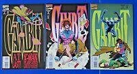 GAMBIT #1 2 3 MODERN AGE COMIC BOOK ~ MARVEL X-MEN 1993 ~ NM/MT