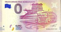 BILLET 0  EURO TRUCK GRAND PRIX NURBURGRING ALLEMAGNE 2018 NUMERO 100