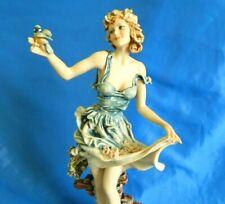 "Giuseppe Armani Figurine Original #0232C Spring Love In Bloom Florence Italy 15"""