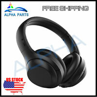 VIPEX Active Noise Cancelling Headphone Bluetooth 5.0 Wireless Over Ear With Mic