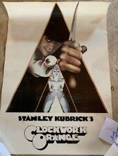 1971 Clockwork Orange Movie Poster