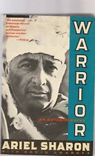 Warrior an Autobiography by Ariel Sharon (1990, Paperback)