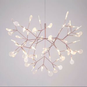Modern Plant Pendant Light LED Chandelier Lights Branch Ceiling Lamp Fixture