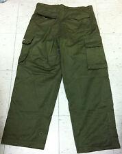Vintage military green 1994 Prime skateboards baggy loose cargo pocket pant 32
