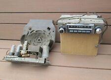 1955-1956 Chevrolet Factory AM Pushbutton Radio w/ Speaker Delco Belair Nomad