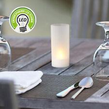 24 x Led Mini Windlicht Tischlicht Kerze Teelicht Kunststoff 6 Std. Timer Batt.