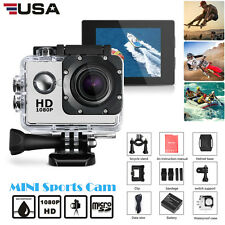 Outdoor Sport Action Camera 720P HD Mini Camcorder Go Waterproof Pro Bike Helmet