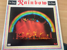 Rainbow On Stage LP #F