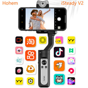 Hohem iSteady V2 3-Axis AI Smart Gimbal Stabilizer For Huawei Mate 40 Phone 12