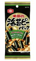 Soy sauce Rice cracker with dried seaweed and Peanuts 42g Kameda from Japan